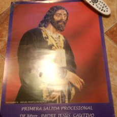 Carteles de Semana Santa: SEMANA SANTA 2004 DE JEREZ DE LA FRONTERA. NUESTRO PADRE JESÚS CAUTIVO.. Lote 52925178