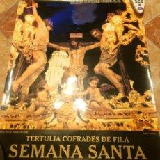 Carteles de Semana Santa: SEMANA SANTA 2004 DE JEREZ DE LA FRONTERA. TERTULIAS COFRADES DE FILA.. Lote 52925388