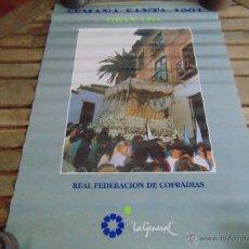 Carteles de Semana Santa: CARTEL SEMANA SANTA DE GRANADA 1991 MIDE 67.5 X 48. Lote 53755891