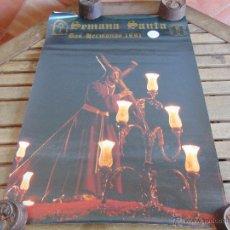 Carteles de Semana Santa: CARTEL SEMANA SANTA DE DOS HERMANAS AÑO 1991 MIDE 69 X 50. Lote 53763850