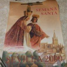 Carteles de Semana Santa: PÓSTER DE LA SEMANA SANTA DE SEVILLA AÑO 2000. 52 X 78 CM. NUEVO.. Lote 201607301