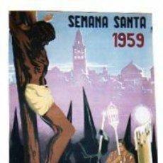 Carteles de Semana Santa: CARTEL. SEMANA SANTA. CORDOBA. 1959. ILUTRADOR: RICARDO ANAYA. MEDIDAS: 48 X 33 CM. Lote 55024761
