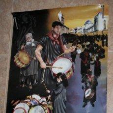 Carteles de Semana Santa: CARTEL, TAMBORADA 2014, SEMANA SANTA DE HELLIN, 69 X 50 CM, POSTER. Lote 55054258