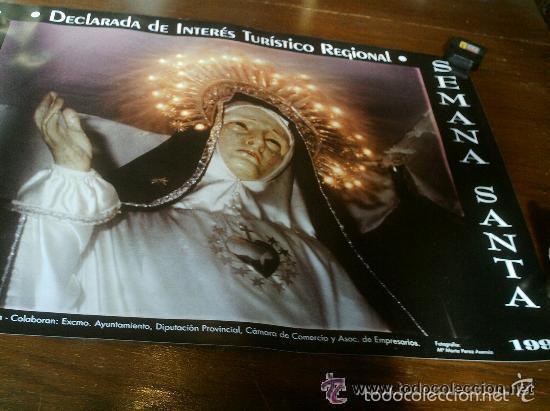 Carteles de Semana Santa: CARTEL SEMANA SANTA DE TORDESILLAS 1999 VIRGEN DE LA SOLEDAD - Foto 2 - 55110223