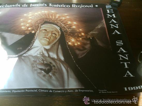 Carteles de Semana Santa: CARTEL SEMANA SANTA DE TORDESILLAS 1999 VIRGEN DE LA SOLEDAD - Foto 3 - 55110223