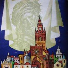 Carteles de Semana Santa: SEVILLA.SEMANA SANTA CARTEL 1977. Lote 193730700