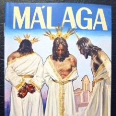 Carteles de Semana Santa: ITINERARIO SEMANA SANTA DE MÁLAGA 2010 - NUESTRO PADRE JESÚS DE LA HUMILLACIÓN Y PERDÓN.. Lote 57491448