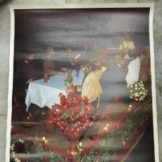 Carteles de Semana Santa: CARTEL SEMANA SANTA DE CADIZ AÑO 1974 - SANTA CENA. Lote 57631724