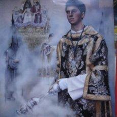 Carteles de Semana Santa: CARTEL SEMANA SANTA SEVILLA 2014 70X39. Lote 193729260