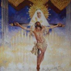 Carteles de Semana Santa: SEMANA SANTA SEVILLA AÑO 1997.49X64. Lote 193731598