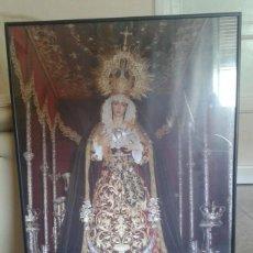 Carteles de Semana Santa: CARTEL ENMARCADO COFRADIA . Lote 61903772