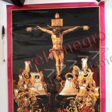 Carteles de Semana Santa: CARTEL PÓSTER - PREGÓN DE HERMANDAD LAS SIETE PALABRAS AÑO 2008 - SEVILLA RELIGIÓN SEMANA SANTA PASO. Lote 64770023