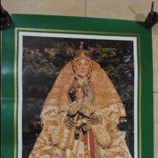 Carteles de Semana Santa: ANTIGUO CARTEL.DIA DE LA VIRGEN.SEVILLA.1990.FOTO GABRIEL POU.. Lote 66279922