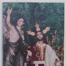 Carteles de Semana Santa: ITINERARIO SEMANA SANTA DE MALAGA 1981. Lote 67215053