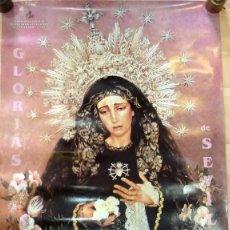 Carteles de Semana Santa: CARTEL GLORIAS DE SEVILLA 2002 - SEMANA SANTA DE SEVILLA, 49X68 CMS. Lote 67830109