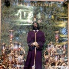 Carteles de Semana Santa: SEMANA SANTA SEVILLA LA LEVANTA 2011, .50X70 CMS. Lote 67831737