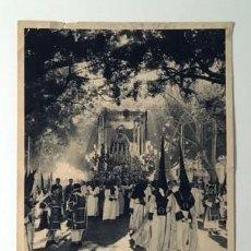 Carteles de Semana Santa: CARTEL DE MÁLAGA EN SEMANA SANTA. 1965. (HUECOGRABADO. REALIZADO EN FOURNIER. Lote 68884497