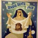 Carteles de Semana Santa: CARTEL SEMANA SANTA , SEVILLA 1948 ,LITOGRAFIA, ILUSTRADOR JUAN MIGUEL SANCHEZ, GRANADA. Lote 69408093