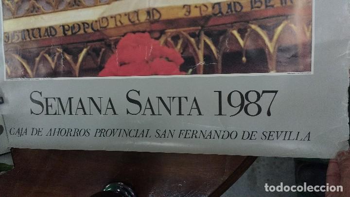 Carteles de Semana Santa: Sevilla 1987 Semana Santa - Foto 3 - 73542763