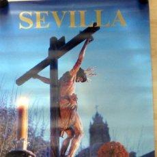 Carteles de Semana Santa: CARTEL SEMANA SANTA DE SEVILLA,1985, 49X69 CMS. Lote 74153027