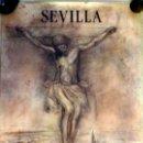 Carteles de Semana Santa: SEMANA SANTA 1992, SEVILLA, CARTEL DE JOAQUIN SAENZ,47X70 CMS, ORIGINAL. Lote 74378763