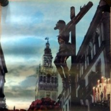 Carteles de Semana Santa: CARTEL SEVILLA. SEMANA SANTA. AÑO 1971. 34X48 CMS. Lote 74714779