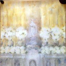 Affiches de Semaine Sainte: CARTEL SEMANA SANTA DE SEVILLA, 1983, CARMEN LAFFON, 64X95 CMS. ORIGINAL. Lote 155883726