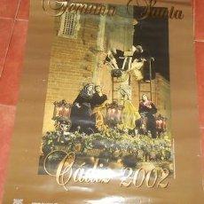 Carteles de Semana Santa: CARTEL SEMANA SANTA DE CÁDIZ 2002. Lote 75026403