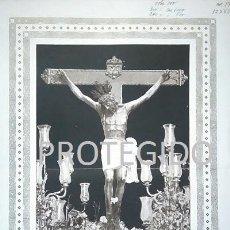 Carteles de Semana Santa: ANTIGUO CARTEL DEL CRISTO DE LA SALUD VENERADO EN LA PARROQUIA DE SAN GIL DE ECIJA SEVILLA. Lote 78366861