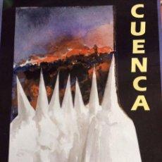 Carteles de Semana Santa: CARTEL ANUNCIADOR SEMANA SANTA CUENCA 2002. Lote 78899837