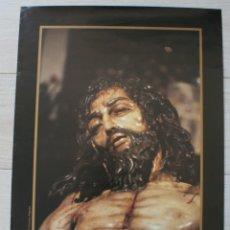 Carteles de Semana Santa: POSTER CARTEL HERMANDAD CRISTO DESCENDIMIENTO SEMANA SANTA MALAGA 2000 AÑO JUBILAR – LA MALAGUETA . Lote 80481061