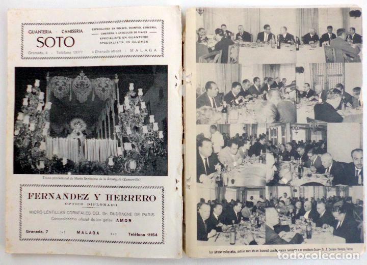 Carteles de Semana Santa: REVISTA LA SAETA SEMANA SANTA DE MALAGA AÑO 1962 LEER - Foto 8 - 83154224