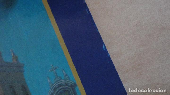 Carteles de Semana Santa: ANTIGUO CARTEL.CORONACION CANONICA.NUESTRA SEÑORA DE LA PALMA.BUEN FIN.SEVILLA.2005.PINTURA TUBE. - Foto 5 - 85864540