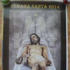Carteles de Semana Santa: SEMANA SANTA DE ALBAIDA DEL ALJARAFE , SEVILLA . CARTEL 2014 HERMANDAD DE LA SOLEDAD. Lote 86285224