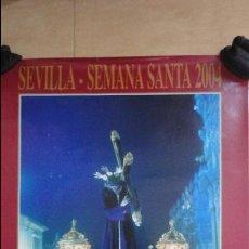 Affiches de Semaine Sainte: ANTIGUO CARTEL.SEVILLA SEMANA SANTA 2004.CAJA MADRID.FOTO SALAZAR-BAJUELO.. Lote 87250140