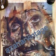 Carteles de Semana Santa: CARTEL SEMANA SANTA SEVILLA 1984, ORIGINAL, 32X48 CMS. Lote 88091024