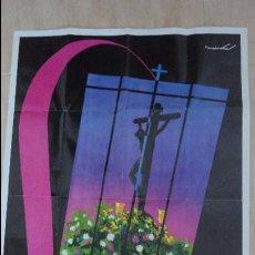 Carteles de Semana Santa: ANTIGUO CARTEL.SEMANA SANTA.JEREZ DE LA FRONTERA.1966.MAINATA.. Lote 90374996