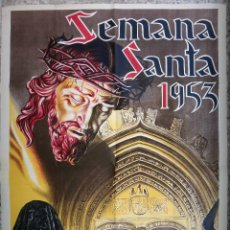 Carteles de Semana Santa: CARTEL SEMANA SANTA , ORIHUELA 1953 , ALICANTE , LITOGRAFIA , ORIGINAL. Lote 92375335