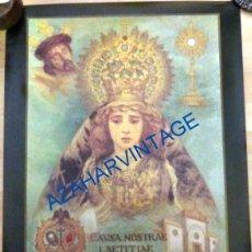 Carteles de Semana Santa: SEMANA SANTA SEVILLA, 1995, CARTEL CINCUENTENARIO FUNDACIONAL HERMANDAD DEL CERRO DEL AGUILA. Lote 94778351