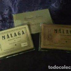 Carteles de Semana Santa: LOTE DE 3 TALONARIOS AÑOS 50, SEMANA SANTA MÁLAGA. Lote 96110363