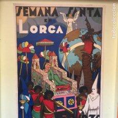 Carteles de Semana Santa: LORCA- MURCIA - SEMANA SANTA CARTEL 1.935. Lote 100036691