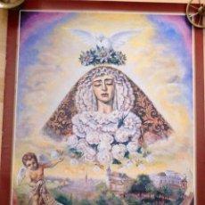 Carteles de Semana Santa: SEVILLA,1994, CARTEL ORIGINAL DE LA CORONACION DE LA VIRGEN DE LA ENCARNACION, SAN BENITO,51X70 CMS. Lote 261240065
