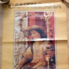 Carteles de Semana Santa: CANTILLANA, 1998. CARTEL FIESTAS EN HONOR DE LA DIVINA PASTORA, 48X68 CMS. Lote 101473611
