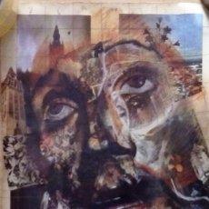 Carteles de Semana Santa: CARTEL SEMANA SANTA SEVILLA 1984, ORIGINAL, 32X48 CMS. Lote 102425119