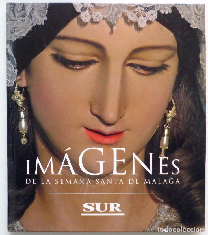 LIBRO IMAGENES DE LA SEMANA SANTA DE MALAGA CON 20 MEDALLAS DE LAS COFRADIAS VOL.I (Coleccionismo - Carteles Gran Formato - Carteles Semana Santa)