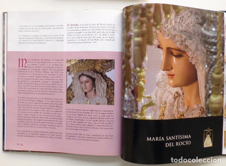 Carteles de Semana Santa: LIBRO IMAGENES DE LA SEMANA SANTA DE MALAGA CON 20 MEDALLAS DE LAS COFRADIAS VOL.I - Foto 3 - 103225991