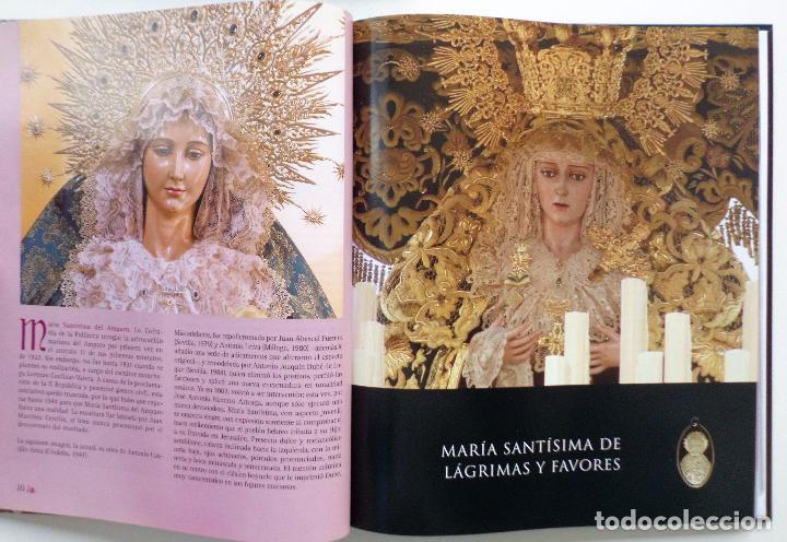 Carteles de Semana Santa: LIBRO IMAGENES DE LA SEMANA SANTA DE MALAGA CON 20 MEDALLAS DE LAS COFRADIAS VOL.I - Foto 8 - 103225991