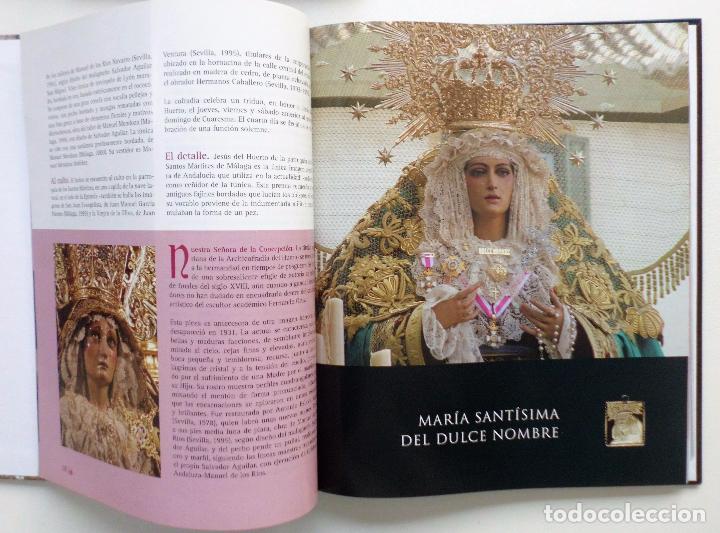 Carteles de Semana Santa: LIBRO IMAGENES DE LA SEMANA SANTA DE MALAGA CON 20 MEDALLAS DE LAS COFRADIAS VOL.I - Foto 9 - 103225991