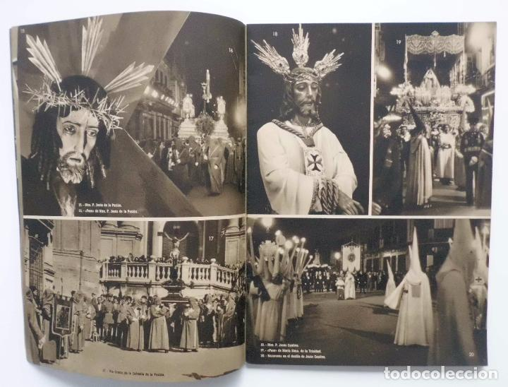 Carteles de Semana Santa: DOCUMENTO GRAFICO EDITADO POR LA AGRUPACION DE COFRADIAS SEMANA SANTA DE MALAGA AÑO 1952 - Foto 4 - 103231507
