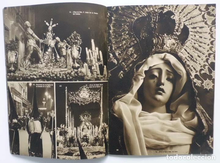 Carteles de Semana Santa: DOCUMENTO GRAFICO EDITADO POR LA AGRUPACION DE COFRADIAS SEMANA SANTA DE MALAGA AÑO 1952 - Foto 6 - 103231507